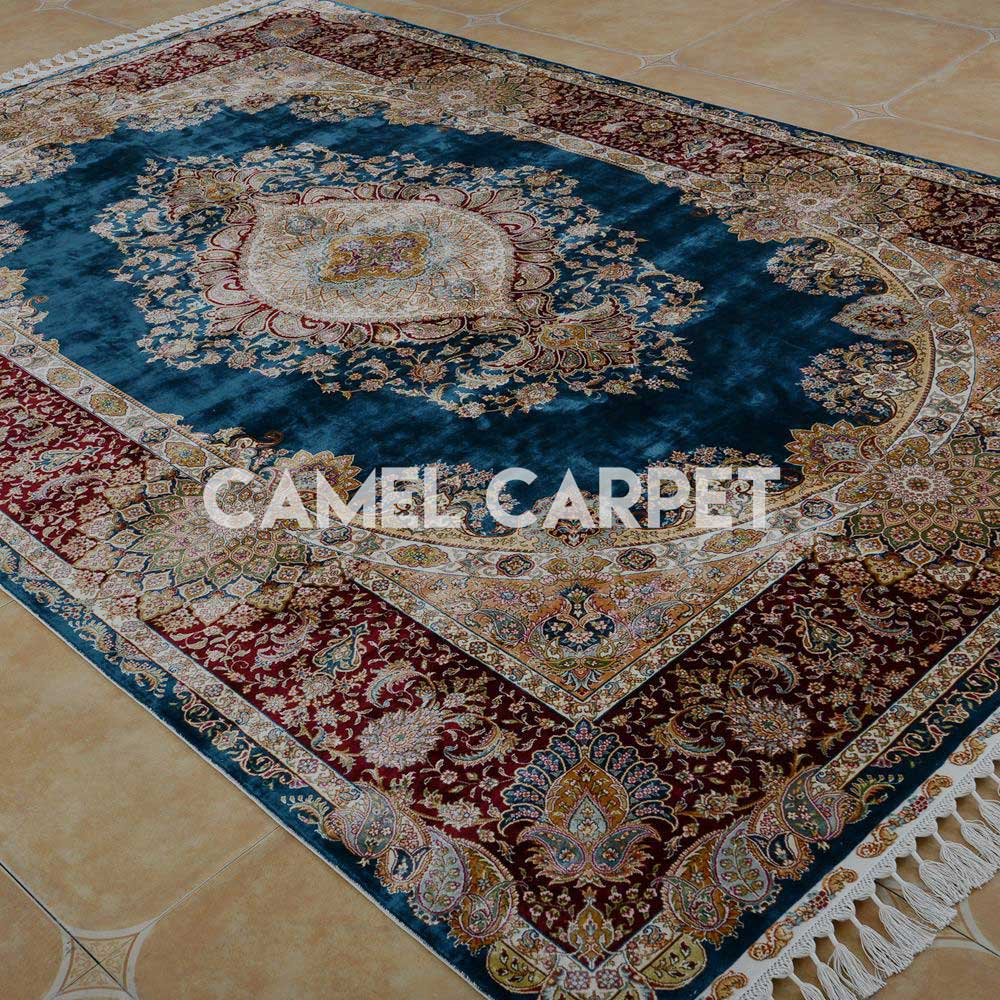 High Quality Silk Hand Knotted Rugs For